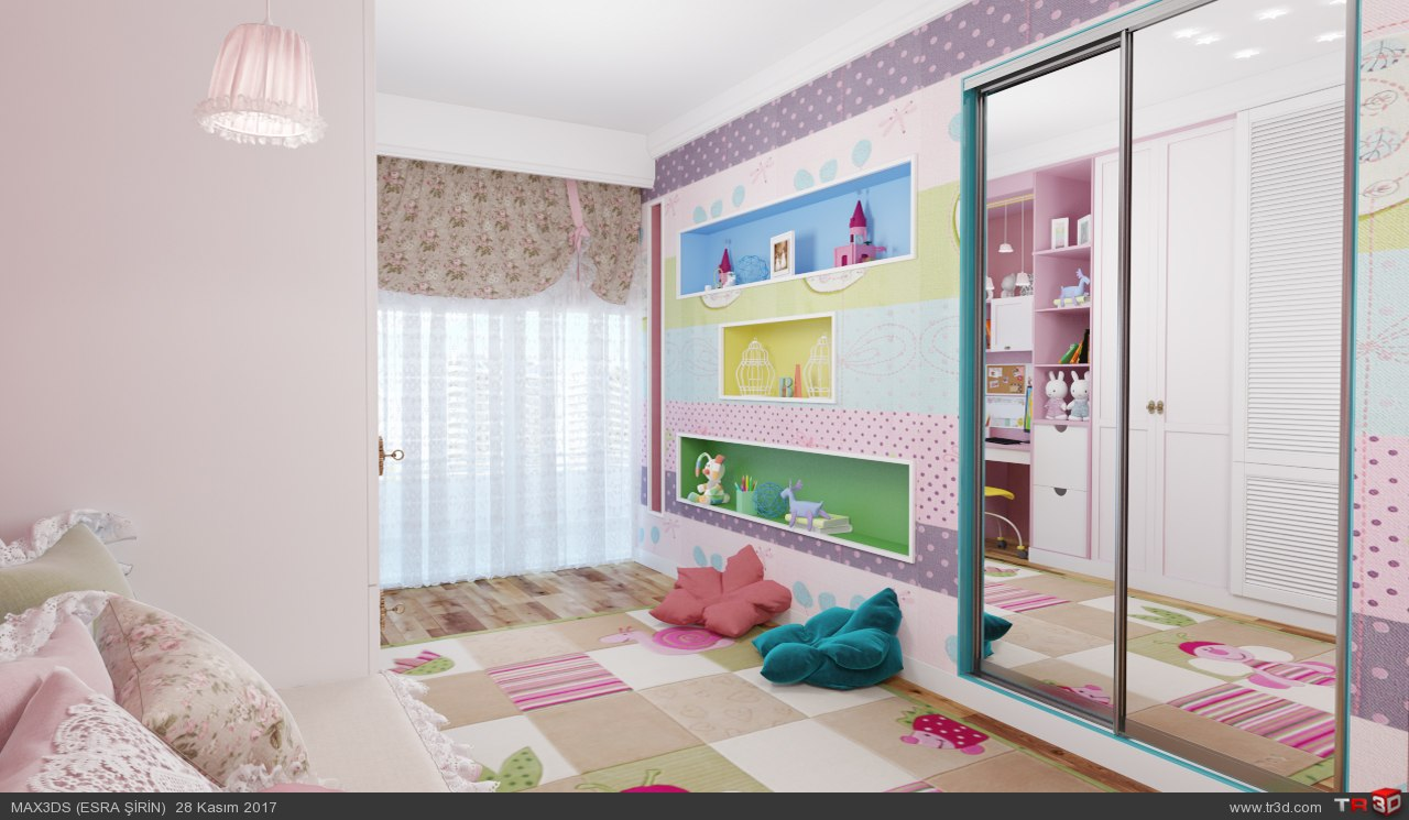 kız çocuk odası 1