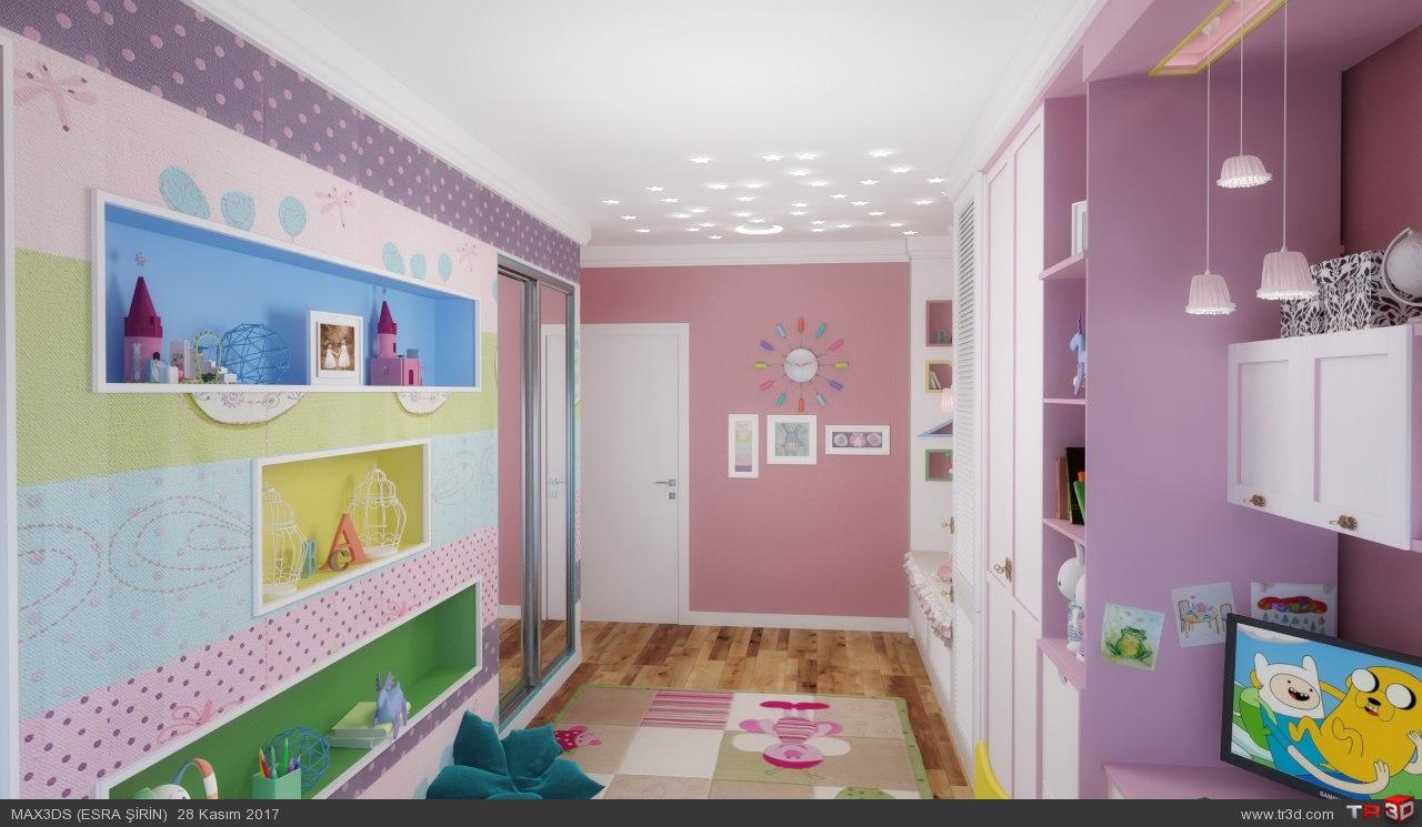 kız çocuk odası 2