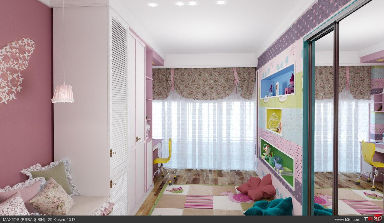 kız çocuk odası 3