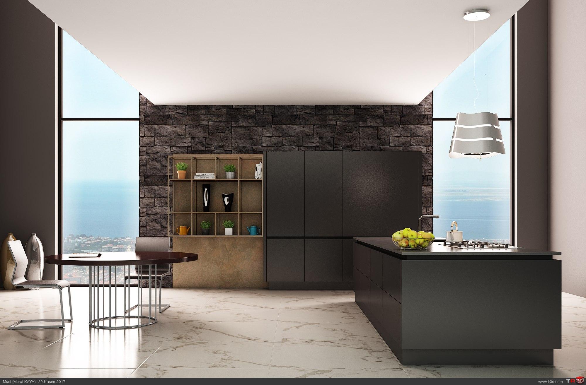 Siyah Mutfak 1