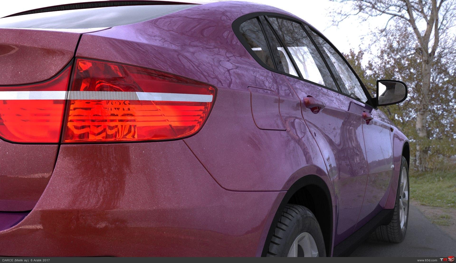 Bmw X6 Kırmızı