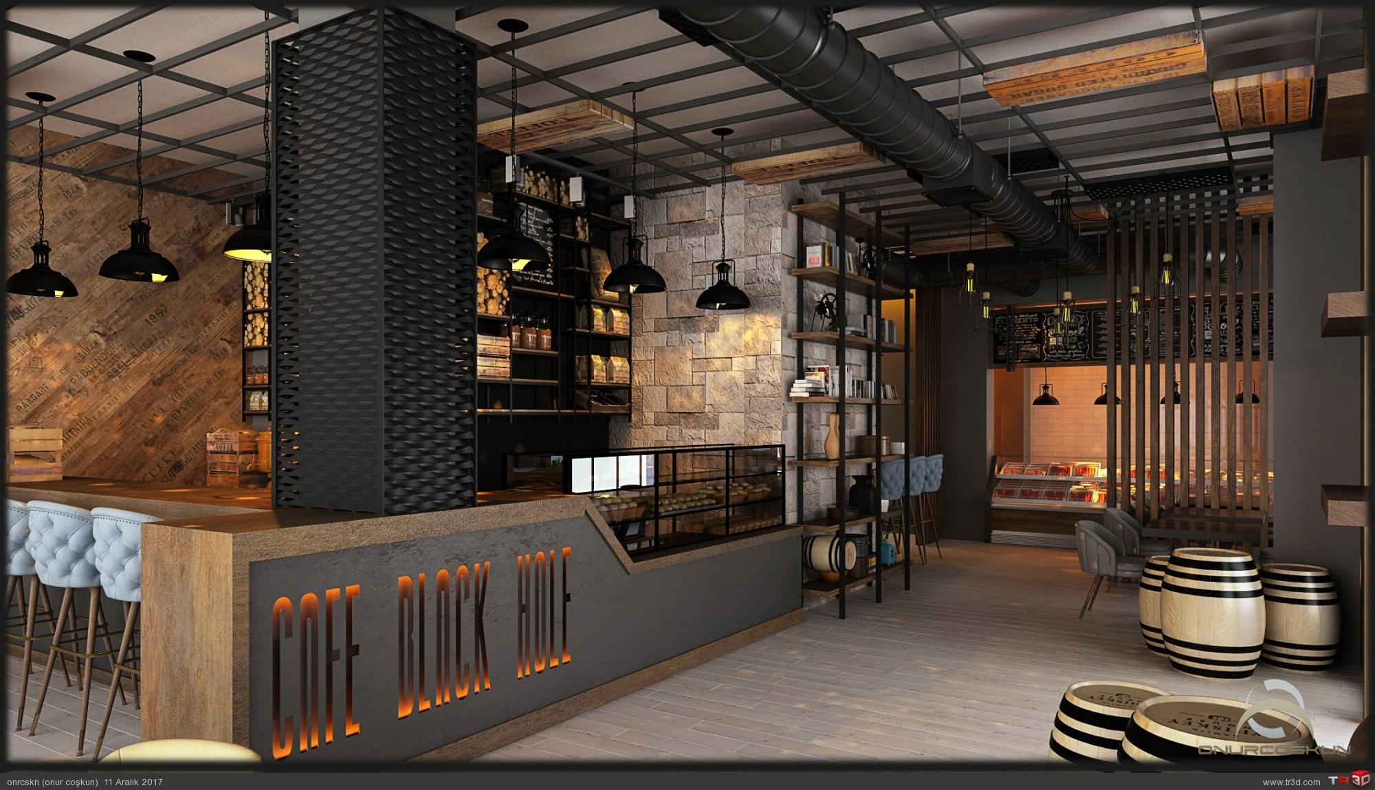 CAFE BLACK HOLE 1