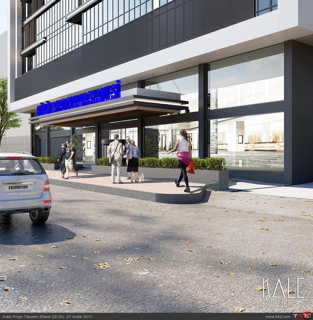Kale3d Hastane renderi - Samsun- 2017 1
