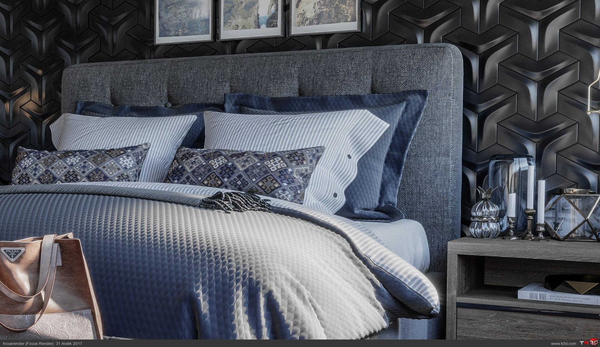 İsveç Stili Yatak Odası 1