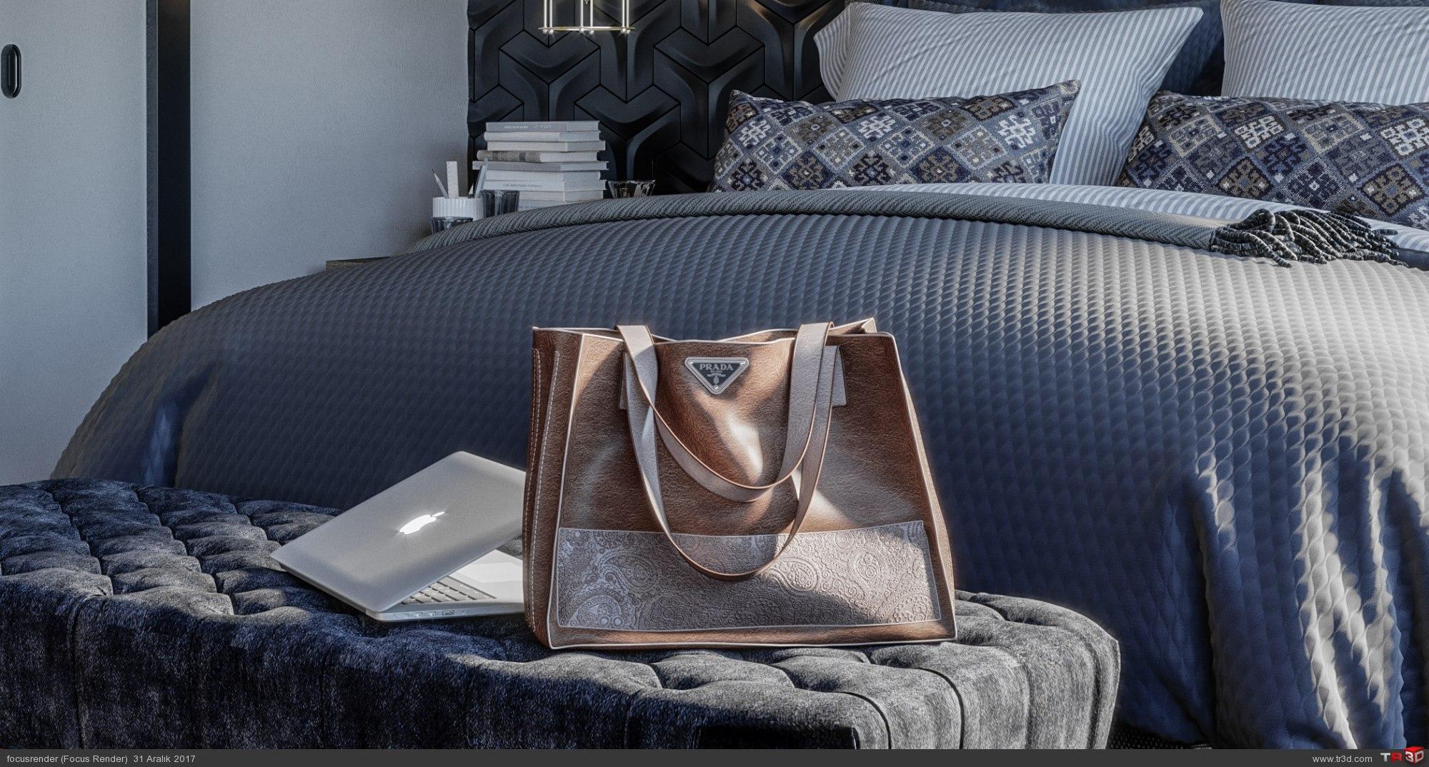 İsveç Stili Yatak Odası 3