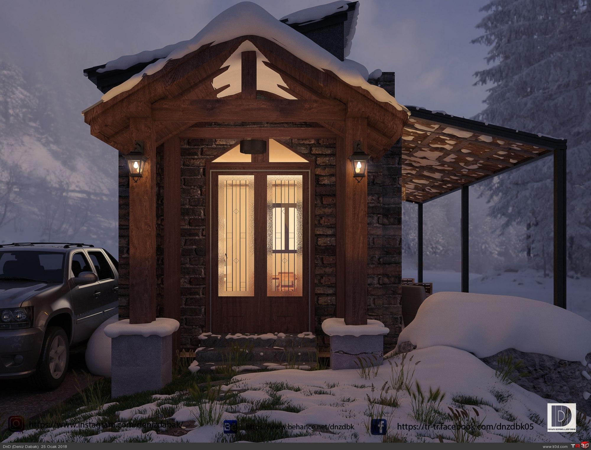 Mountain Lake House 2