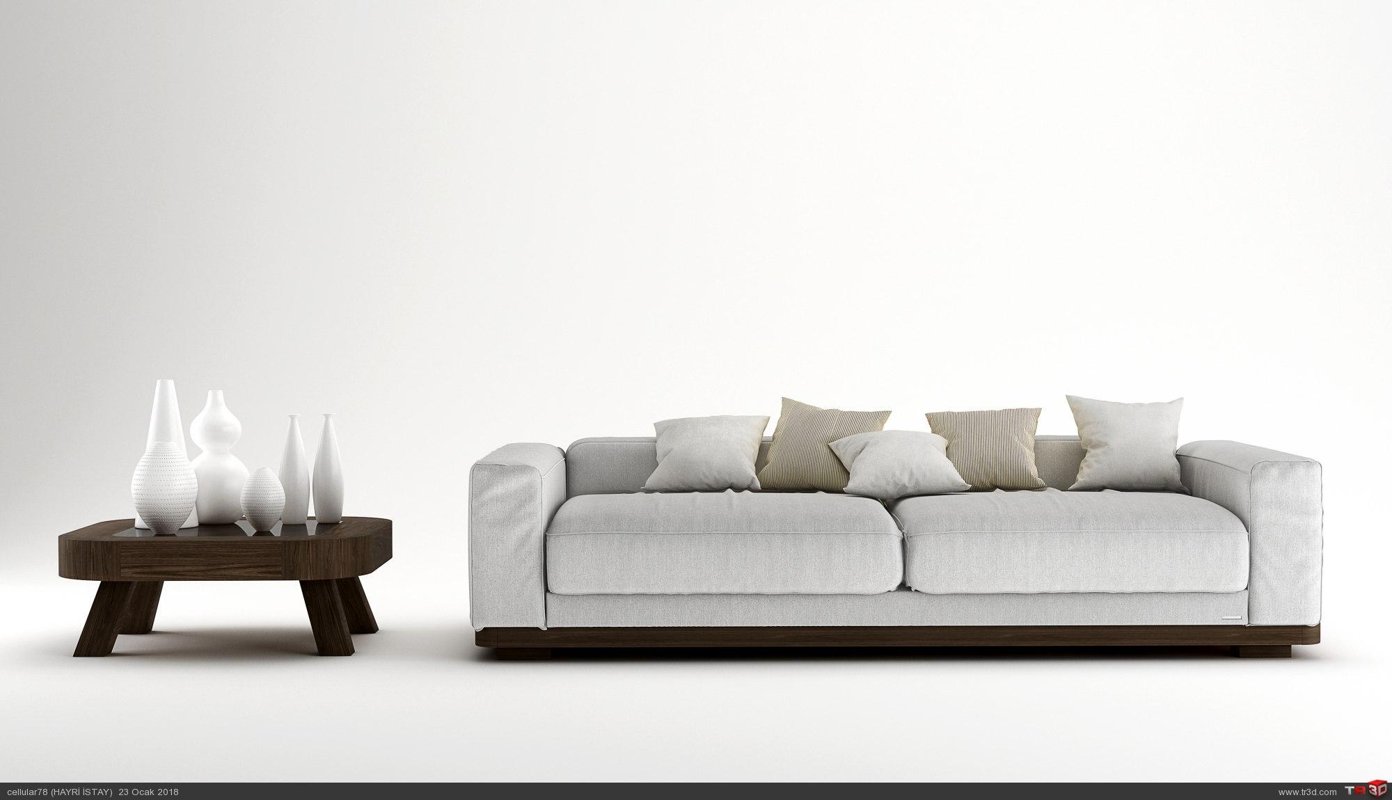 sofa 3d cgi