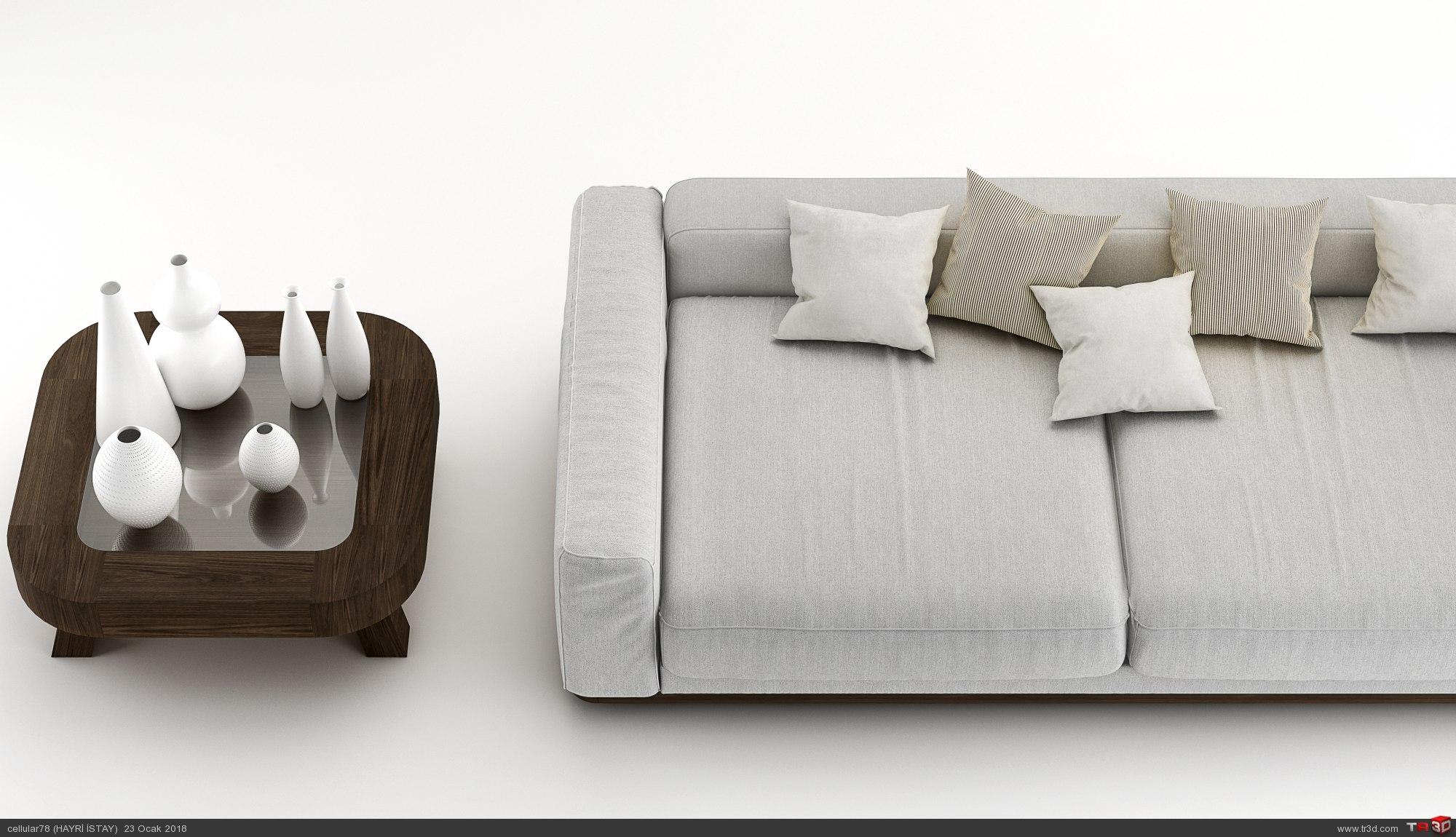 sofa 3d cgi 2