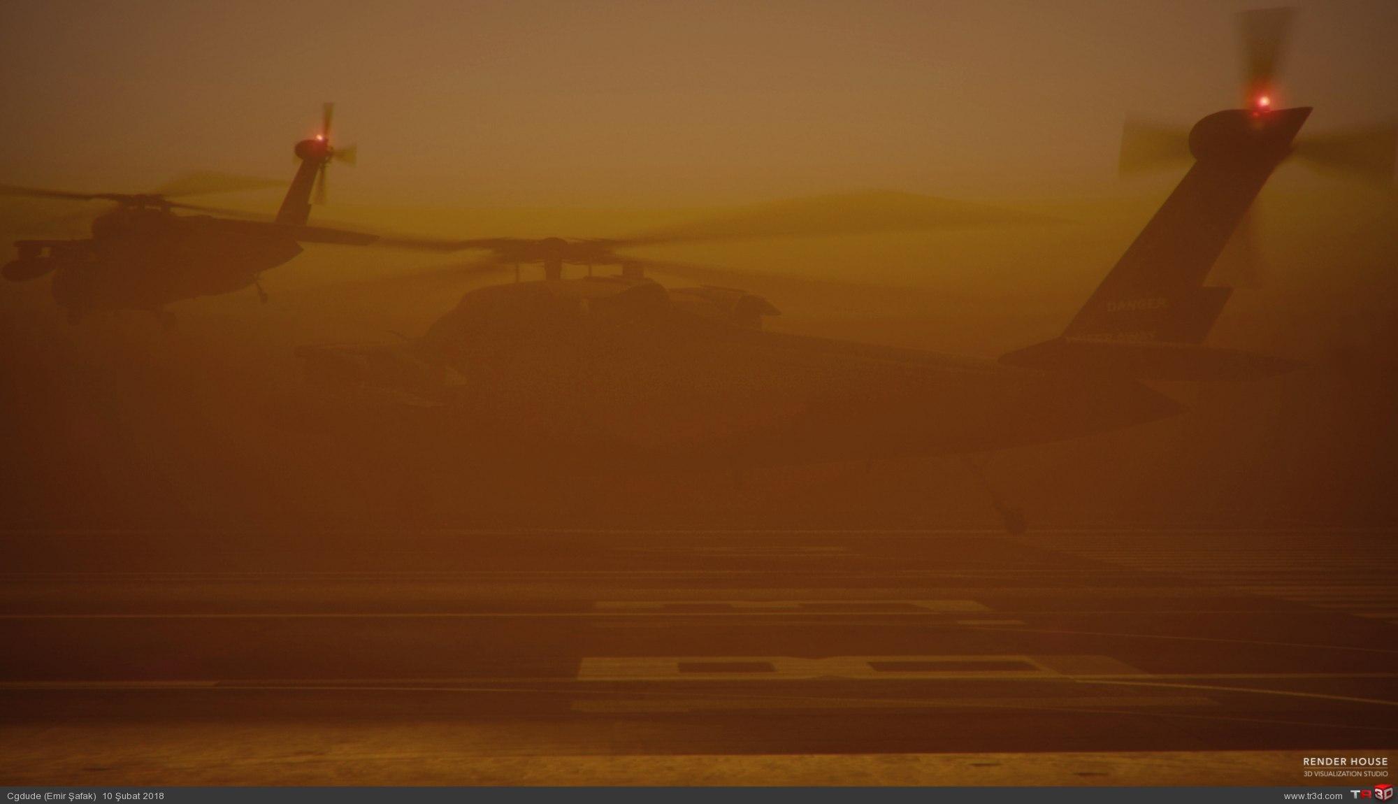 Desert Fire 1