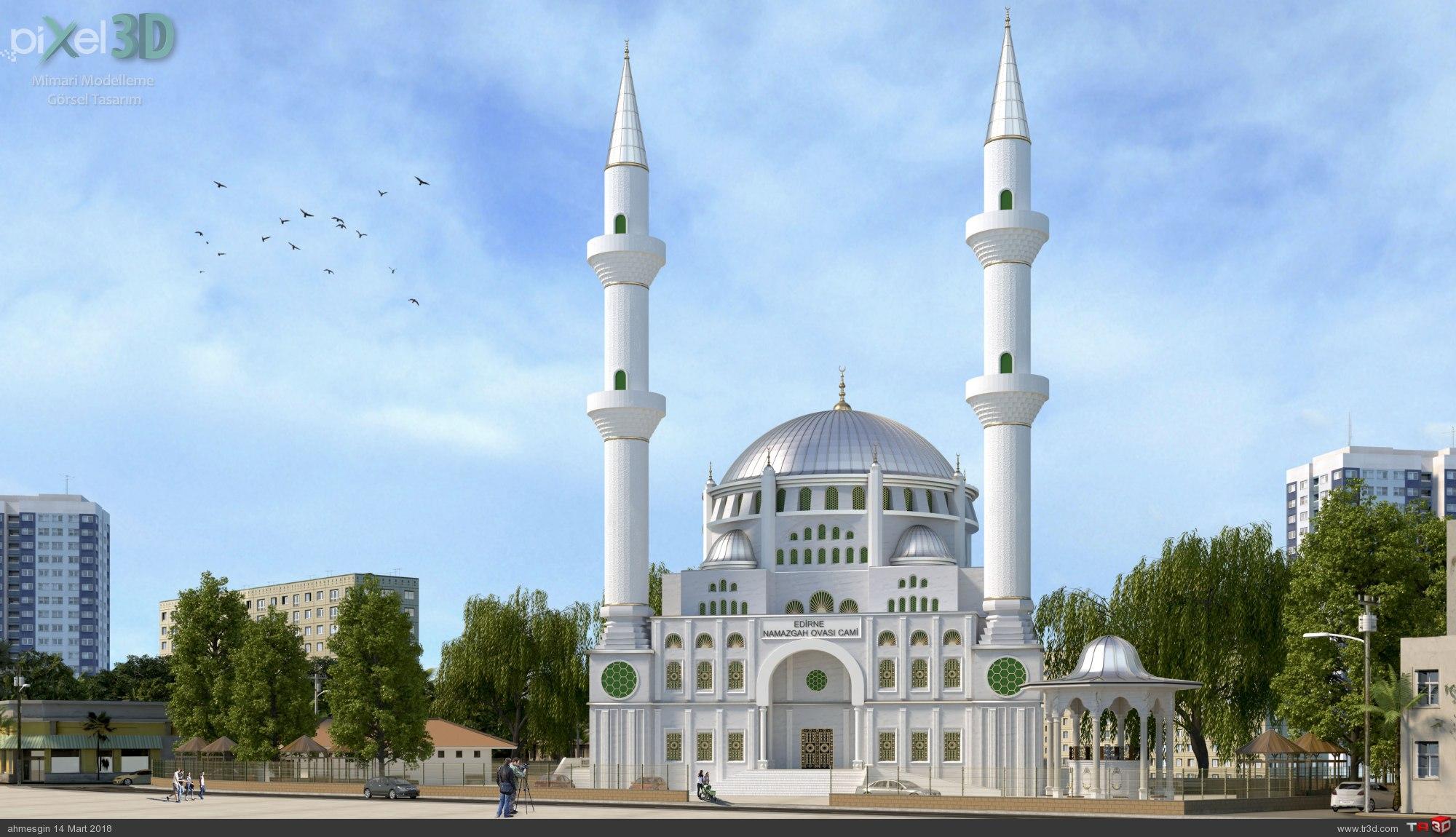 Edirne Namazgah Ovası Cami