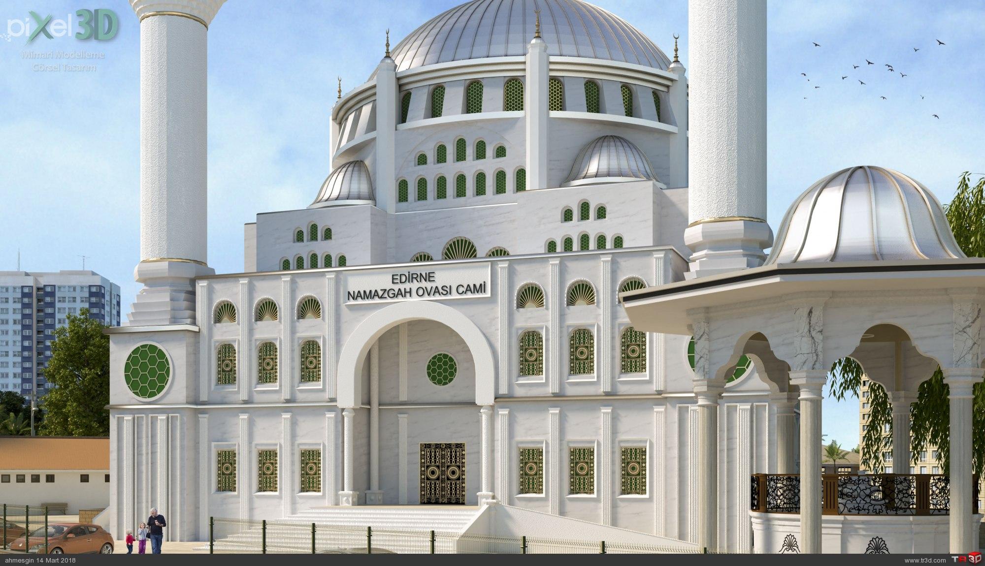 Edirne Namazgah Ovası Cami 1