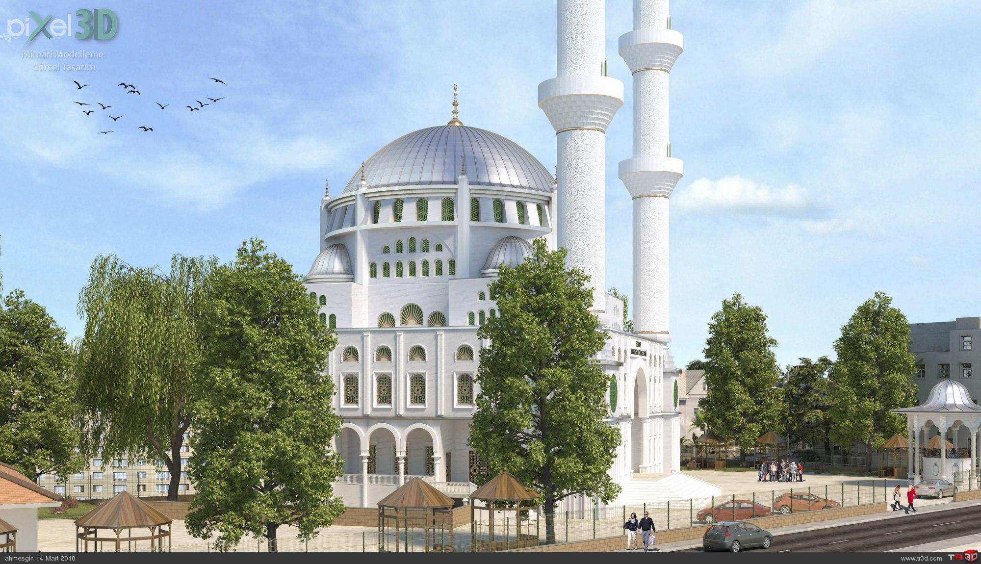 Edirne Namazgah Ovası Cami 2