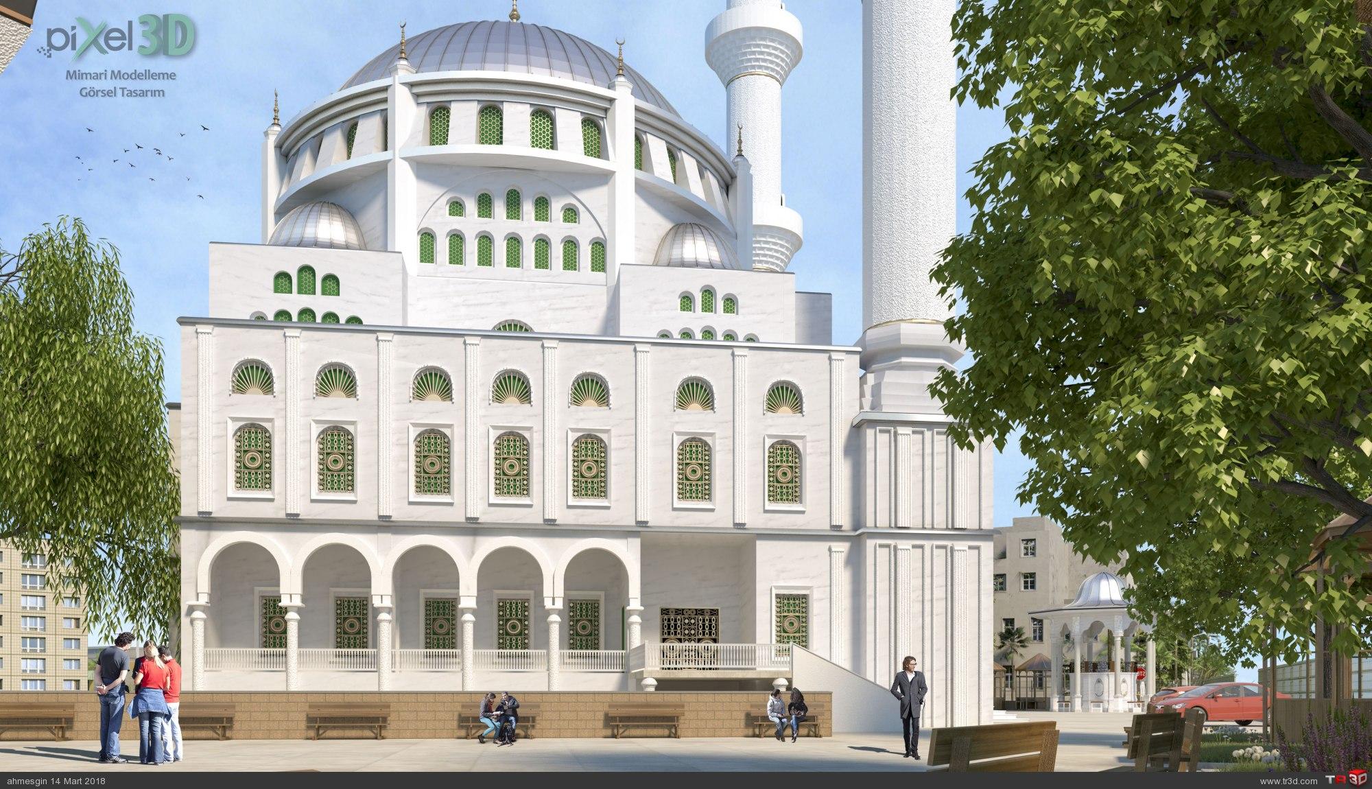 Edirne Namazgah Ovası Cami 4