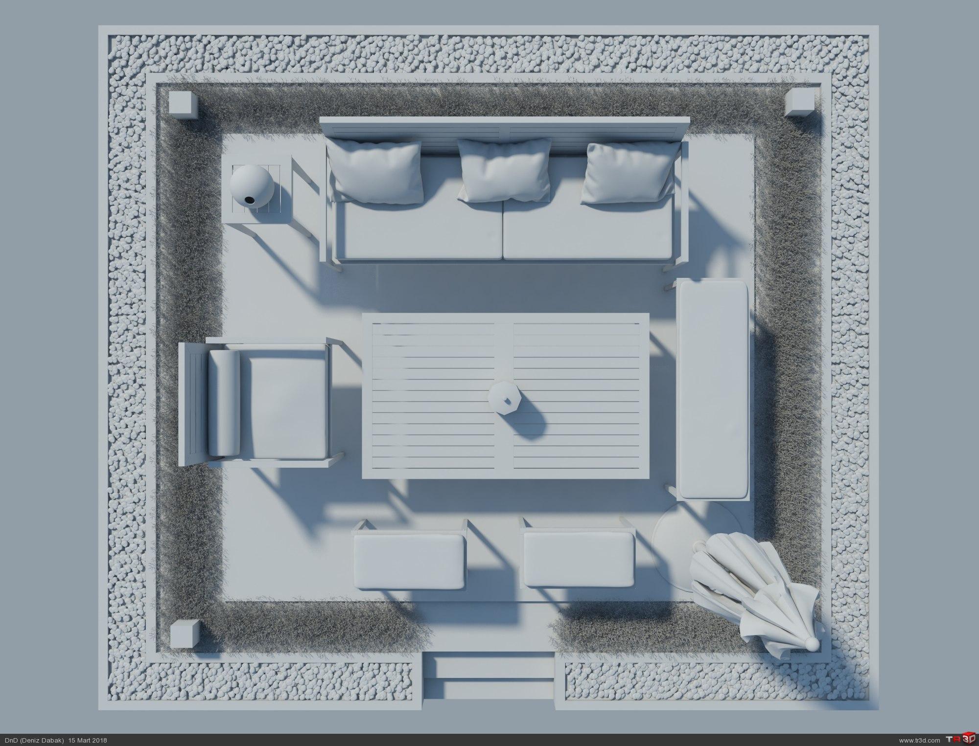 Garden Furniture 3