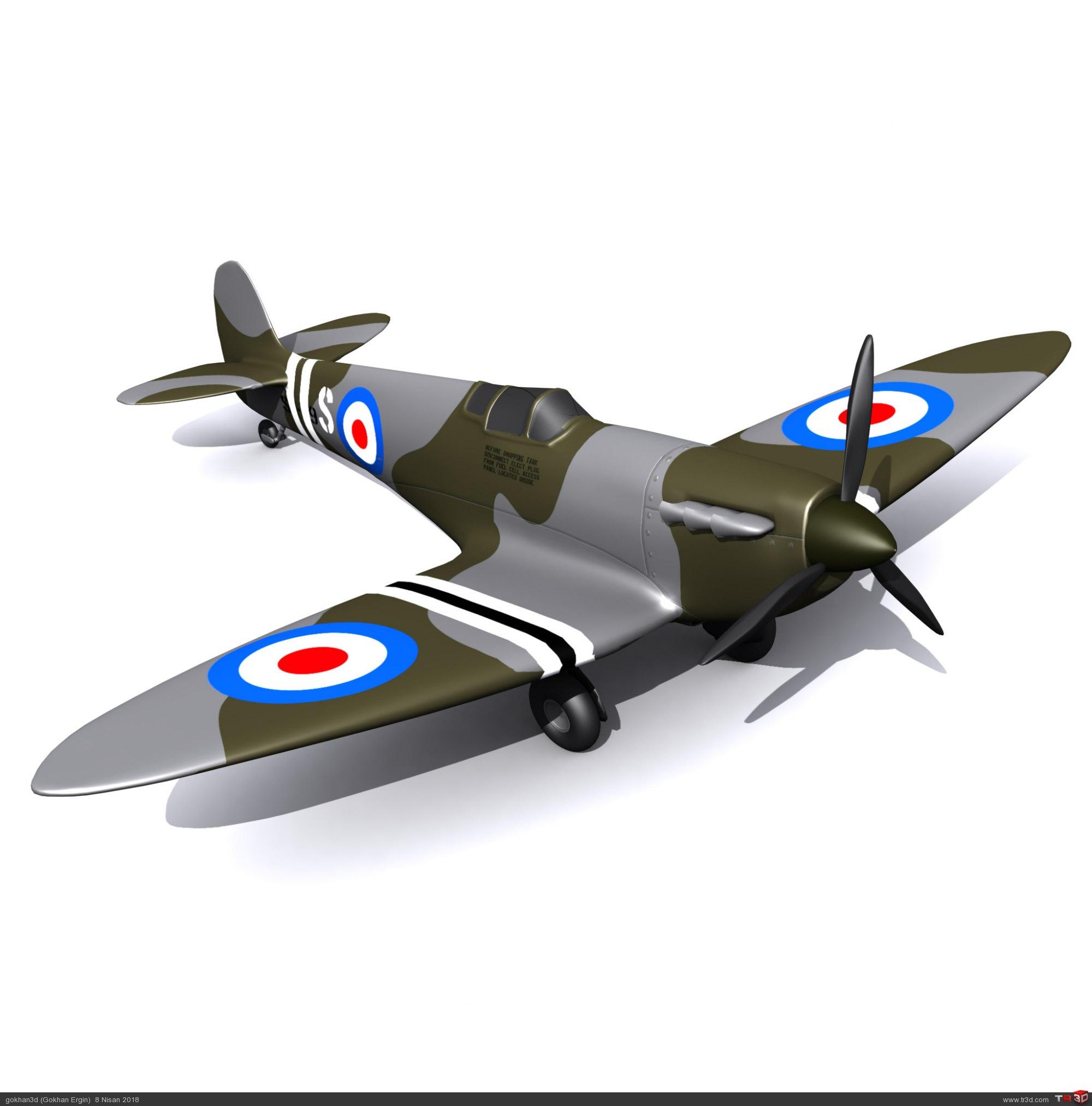 Spitfire - Ücretsiz Model 1