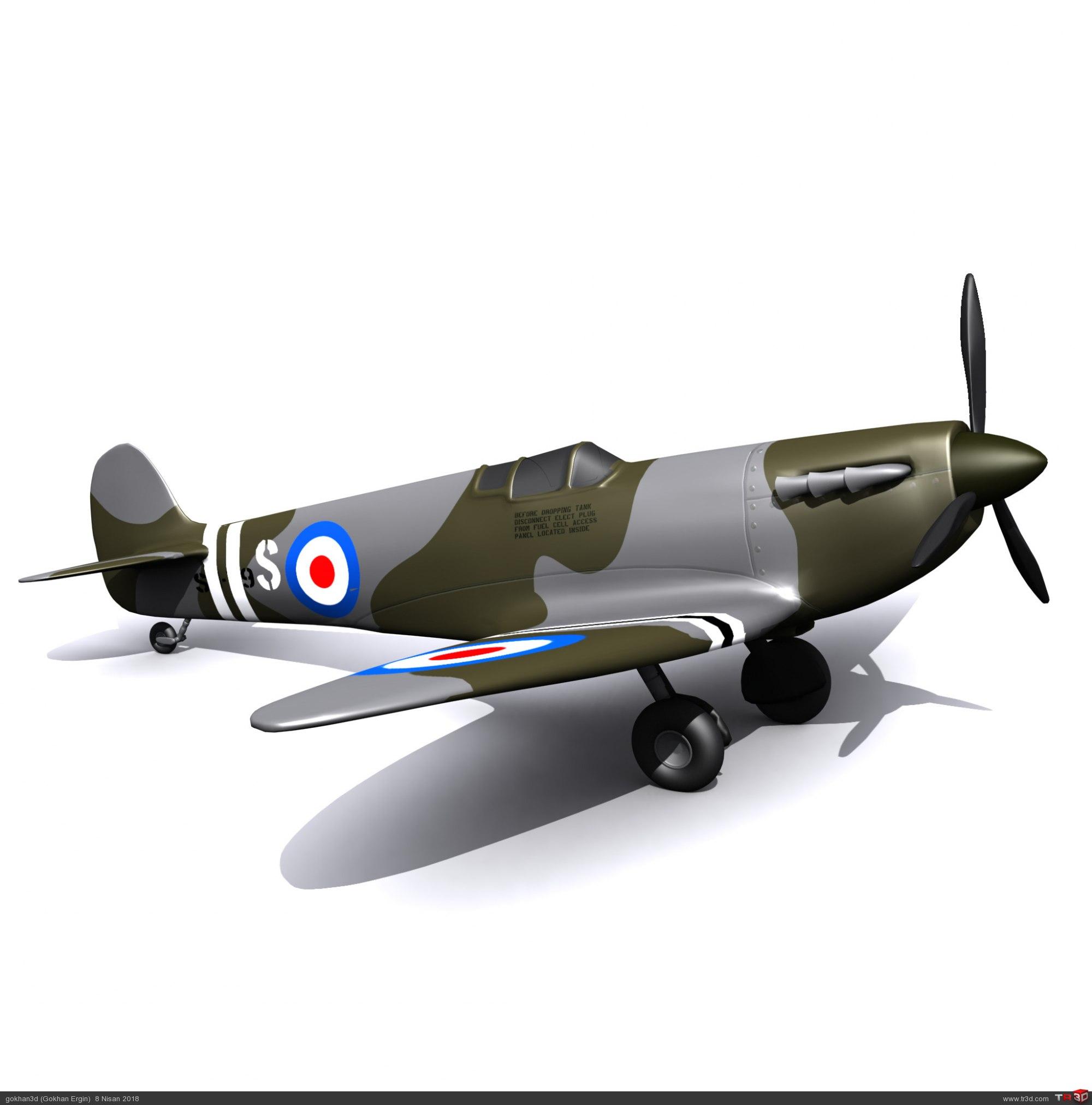 Spitfire - Ücretsiz Model 2