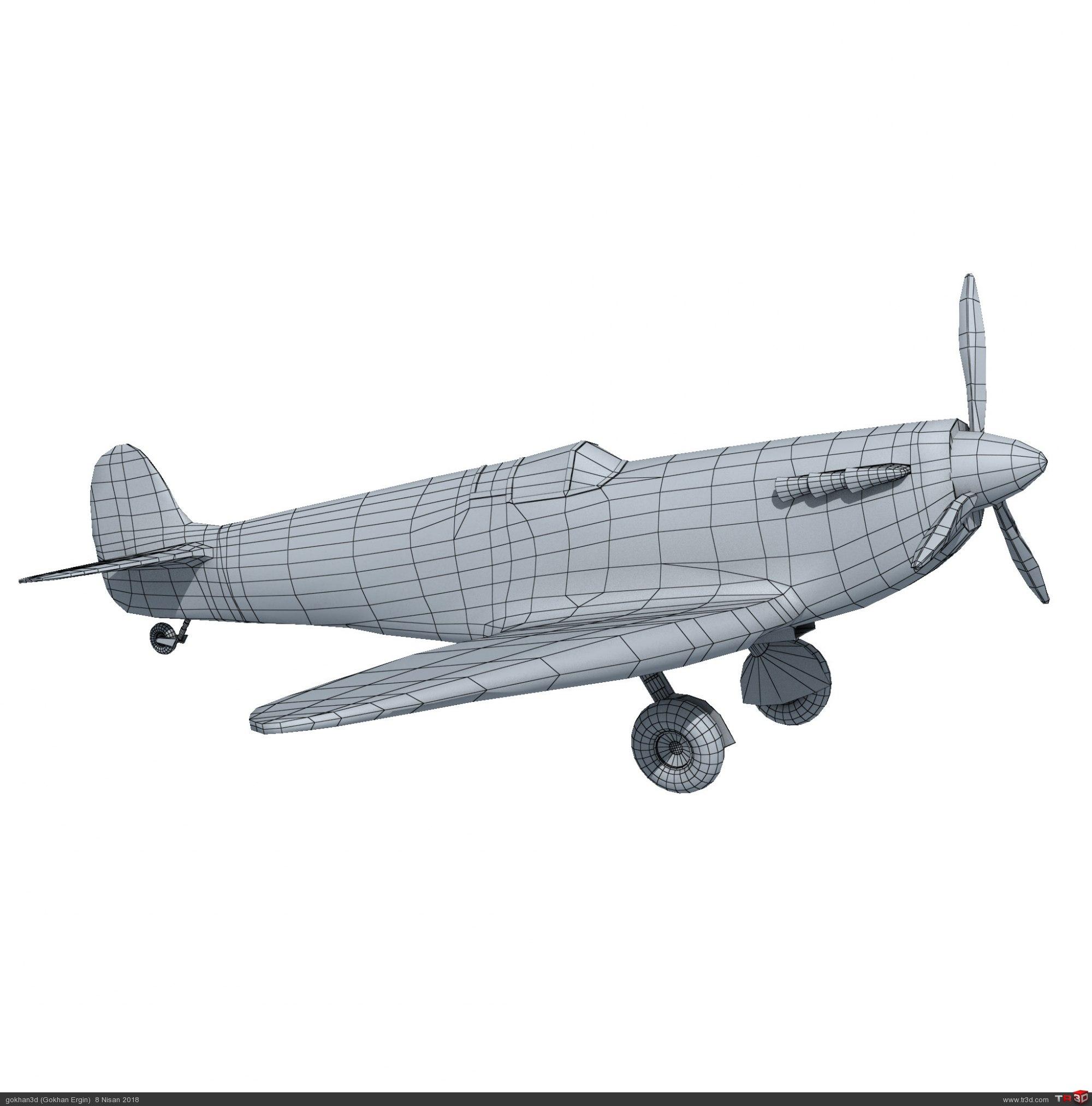 Spitfire - Ücretsiz Model 3