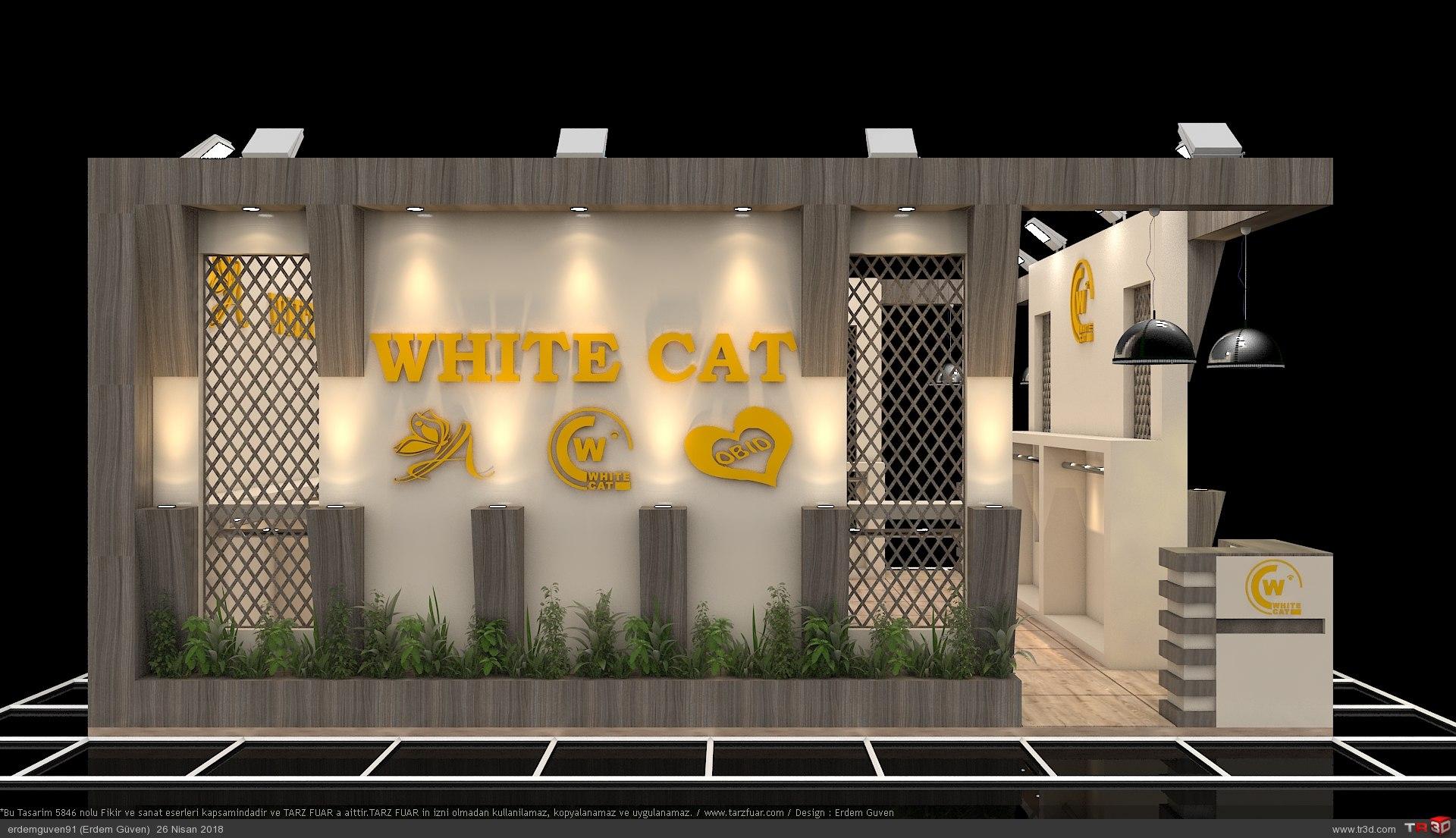 White Cat Fuar Standı 1