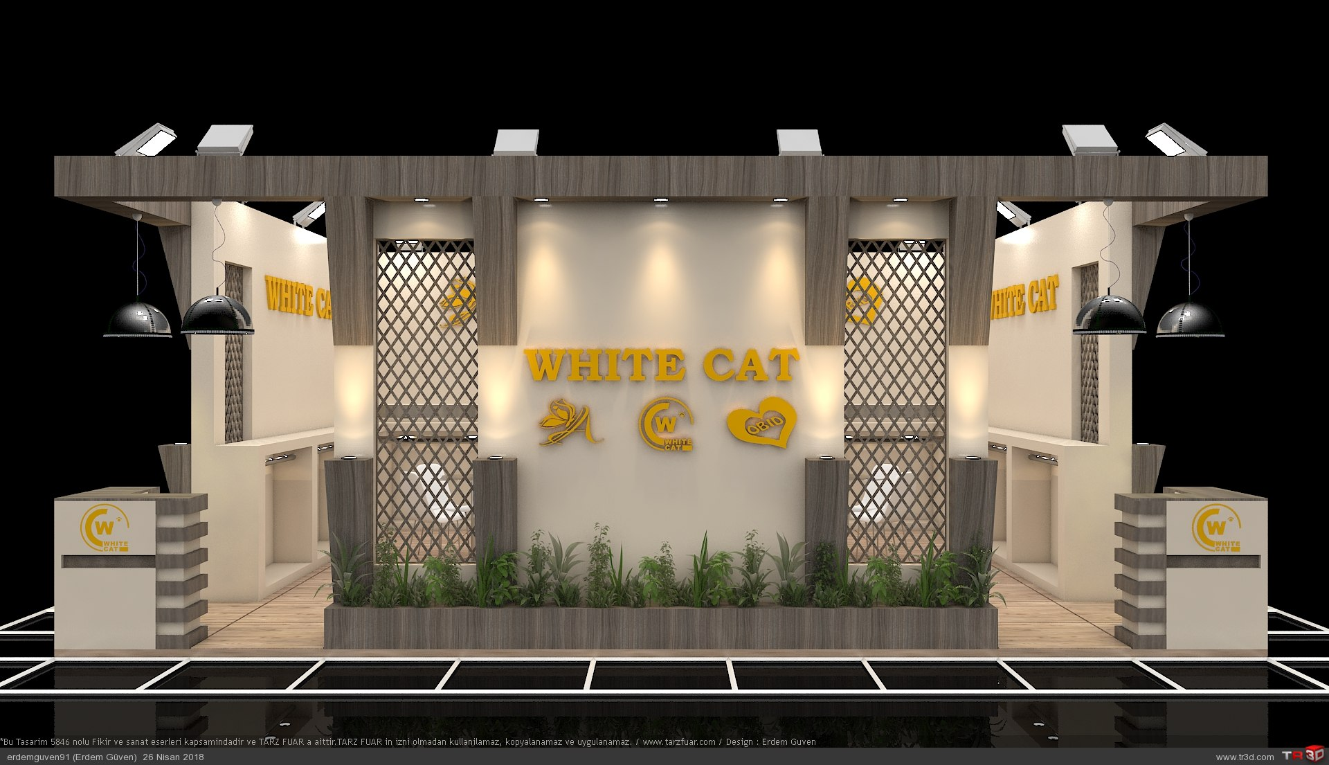 White Cat Fuar Standı 2