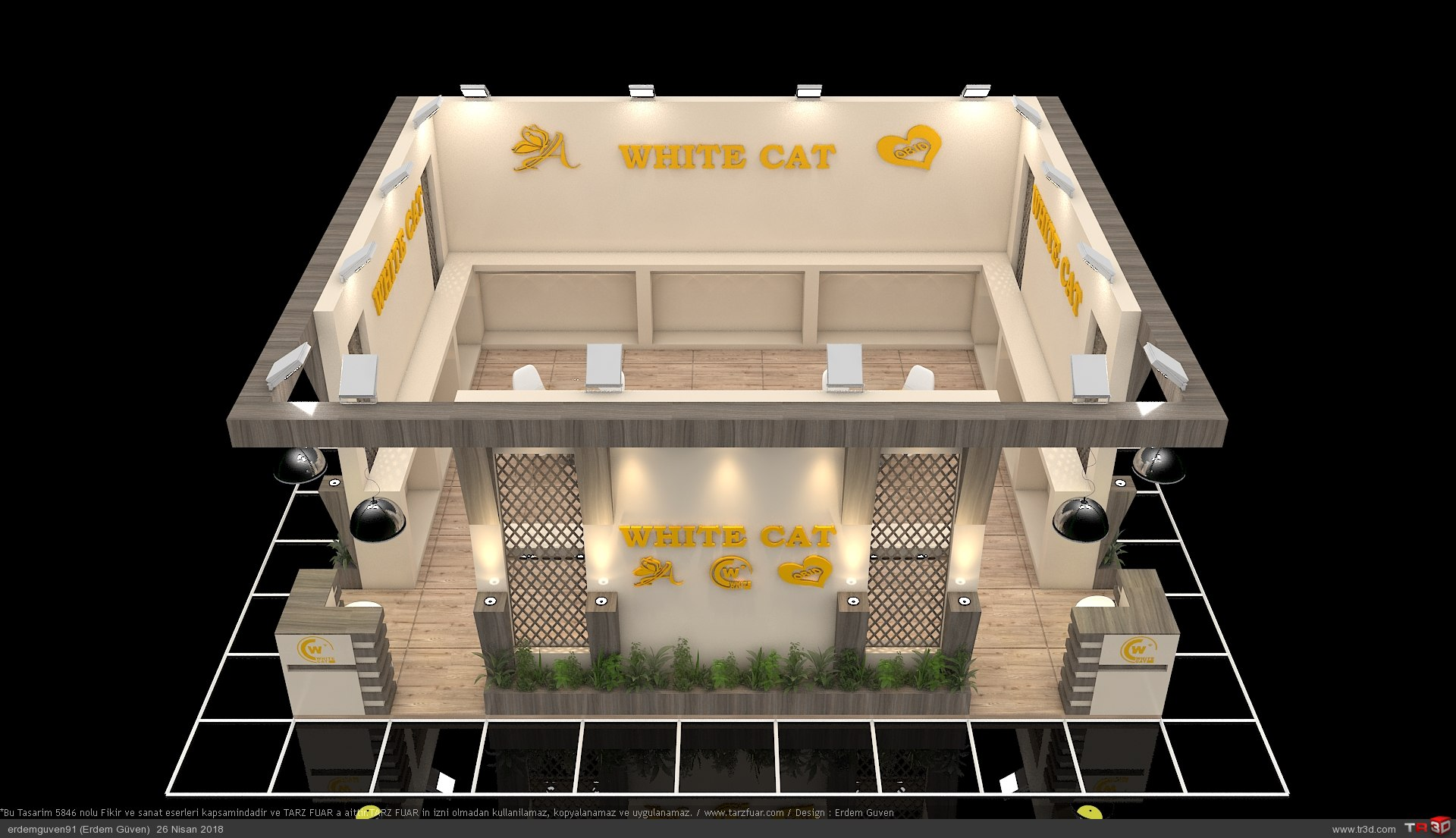 White Cat Fuar Standı 3