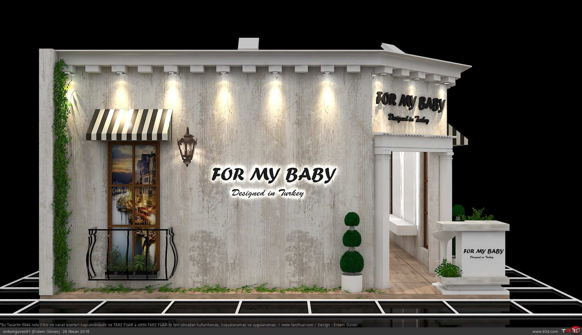 For My Baby Fuar Standı 1