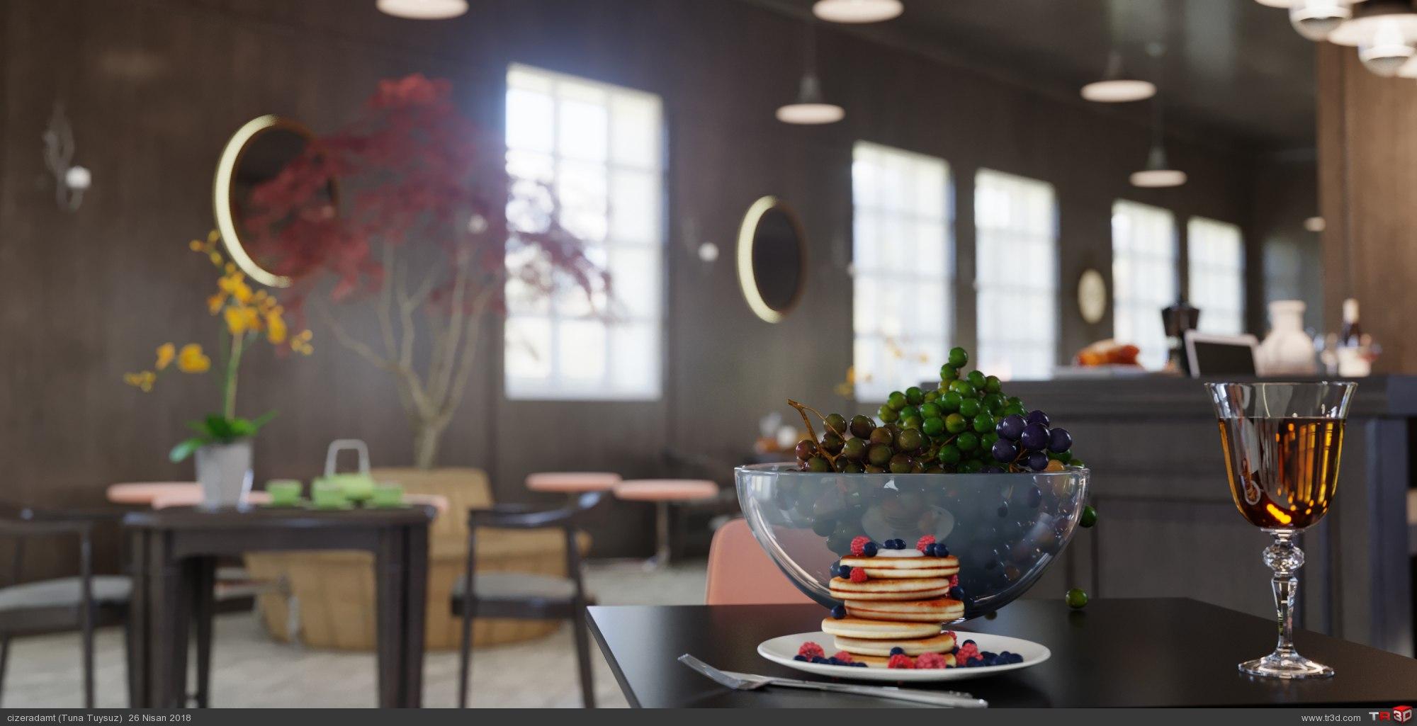 Anadolu Roma Enstitüsü Cafe Tasarımı 3