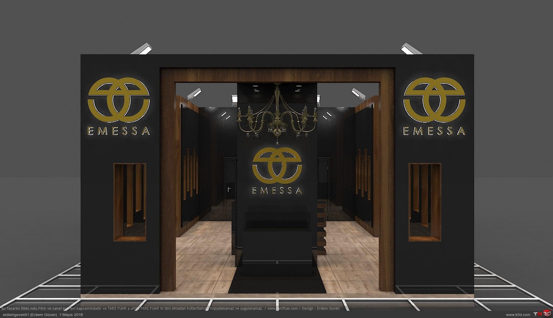 Emessa Gold Fuar Standı 3