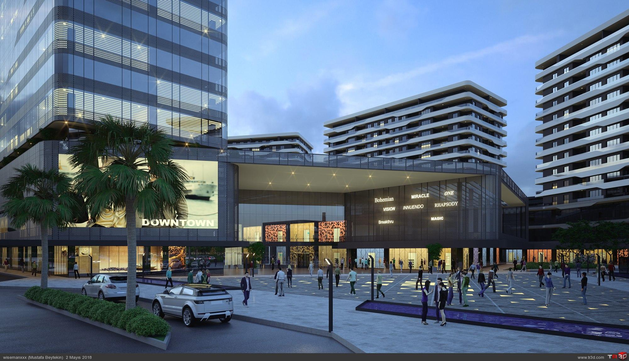 Downtown Bursa 1
