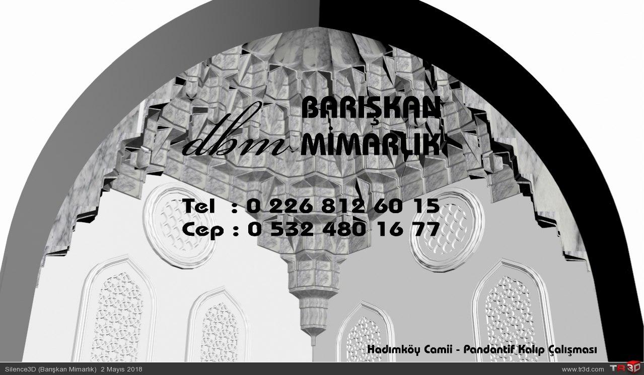 Hadımköy Camii - Pandantif Mukarnas Kalıp Çalışması 1