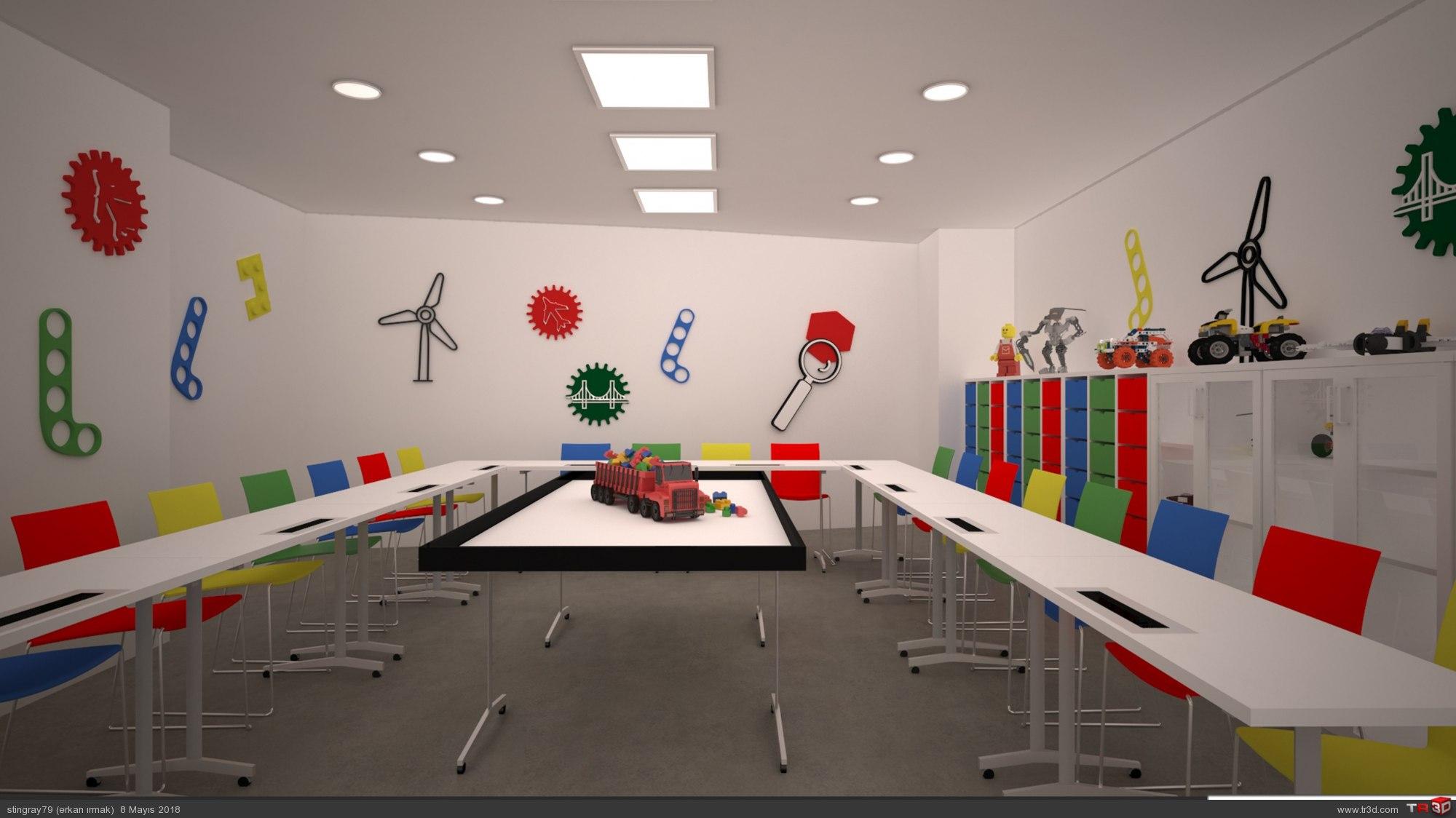 Lego oyun odası