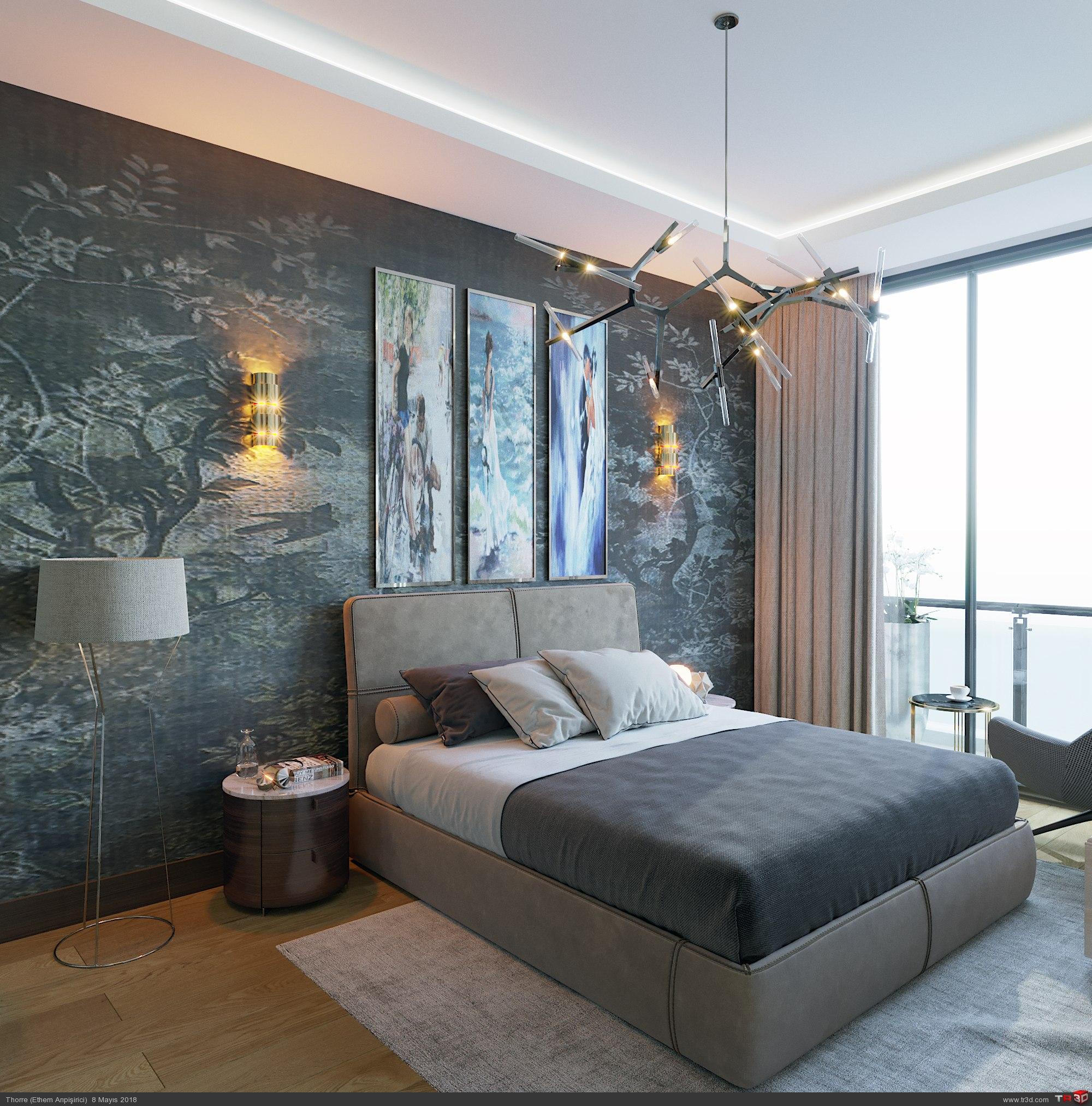 Beytepe Örnek Daire Yatak Odası 2