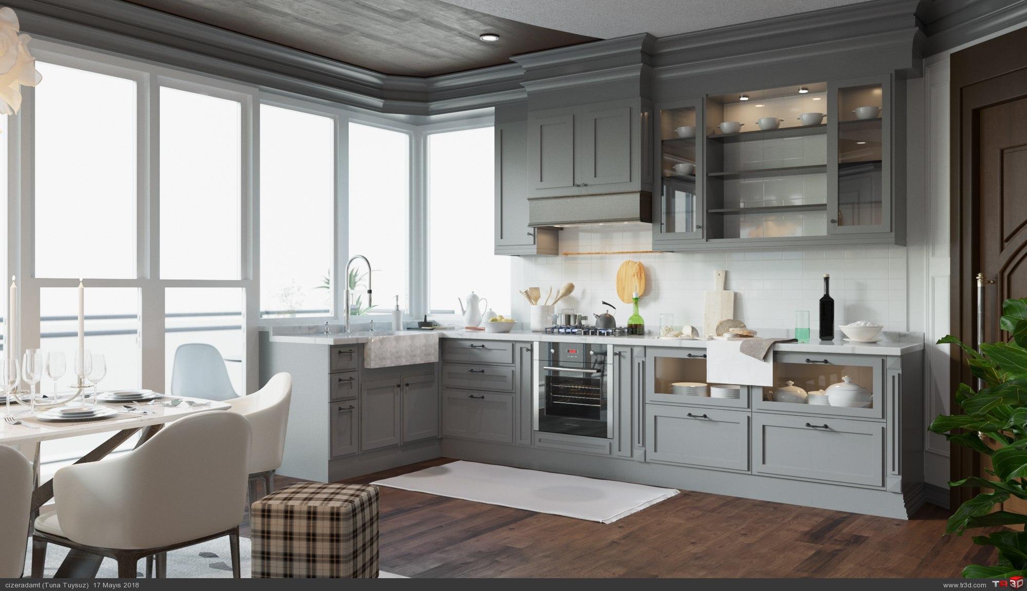 Mutfak Tasarımı 4