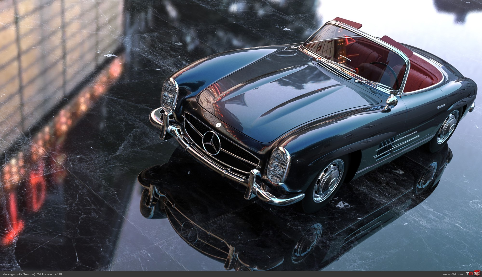 Mercedes 300SL Roadster 1957