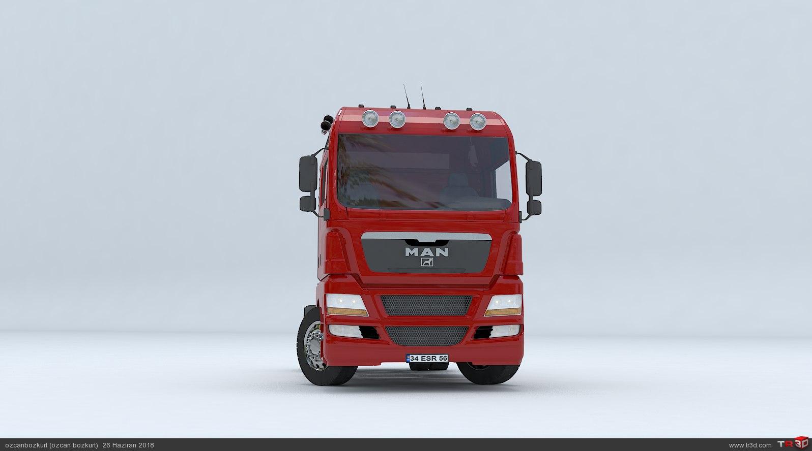 MAN TGX D38 TRUCK - Tractor