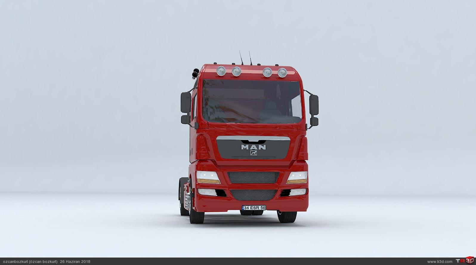 MAN TGX D38 TRUCK - Tractor 1