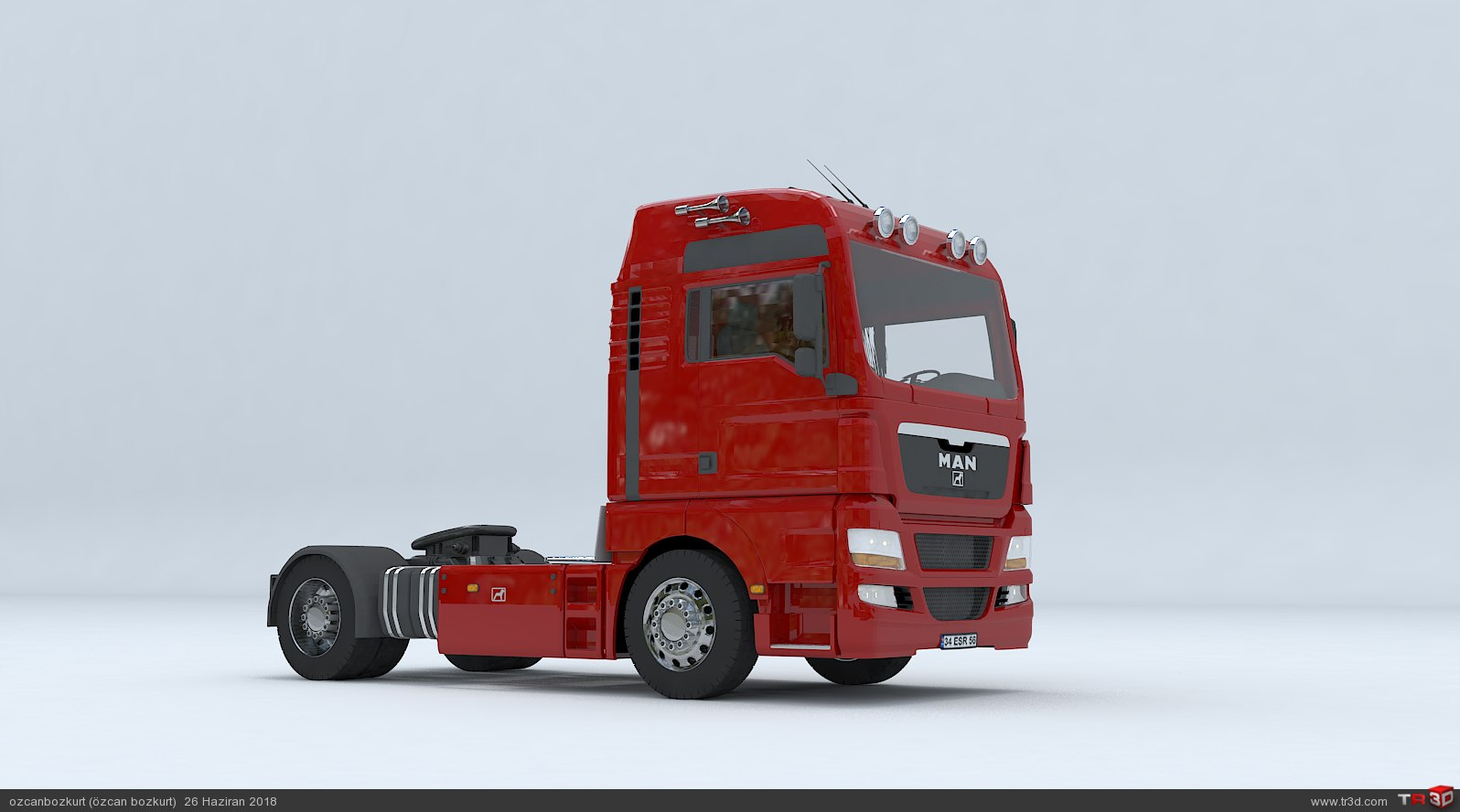 MAN TGX D38 TRUCK - Tractor 2