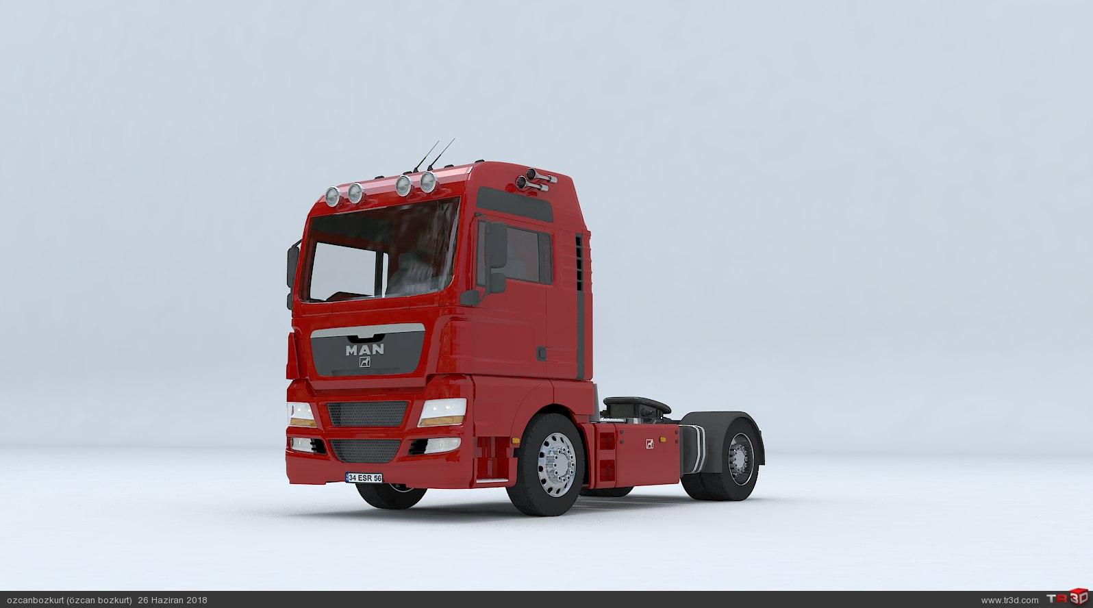 MAN TGX D38 TRUCK - Tractor 3