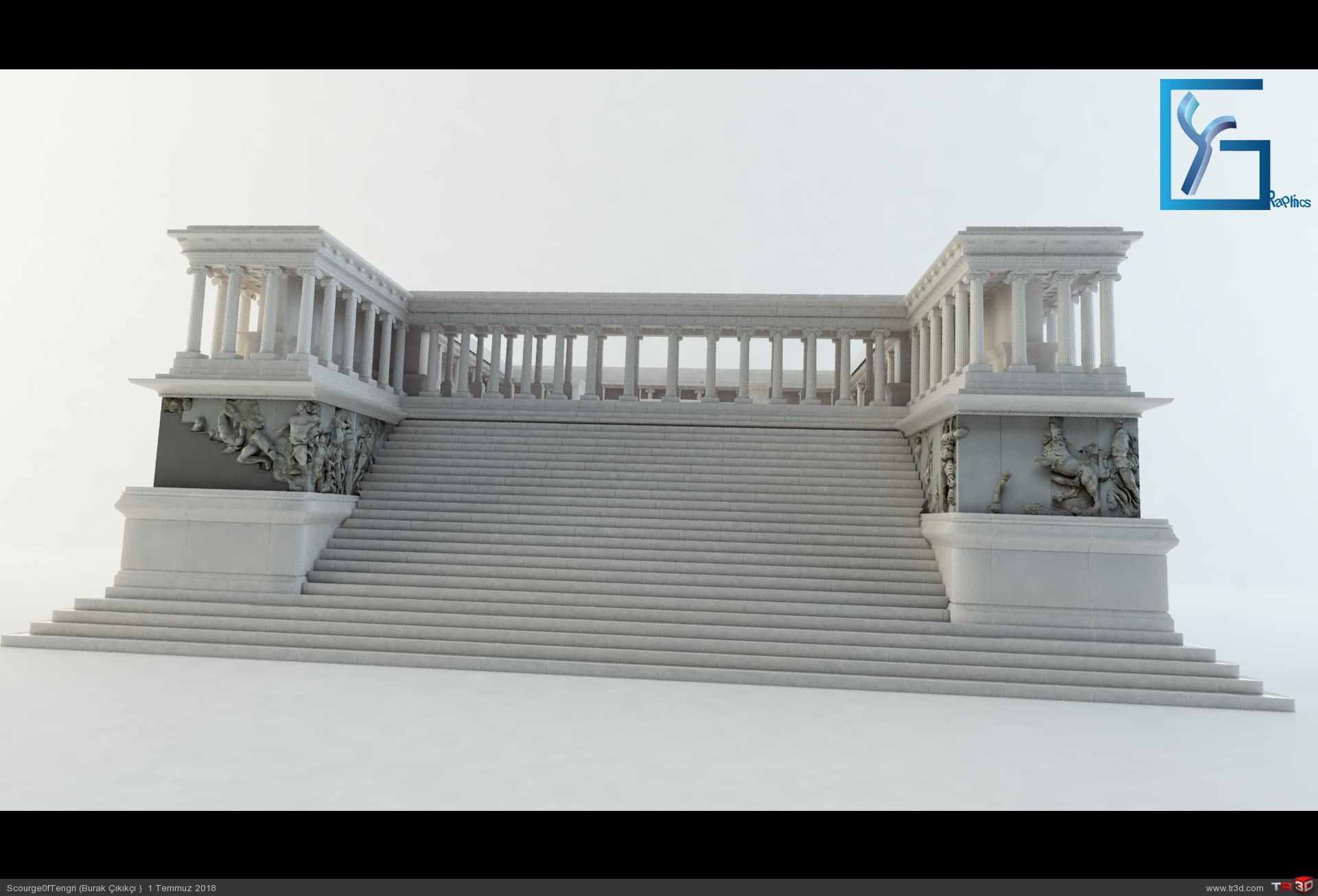 Zeus Altarı Pergamon