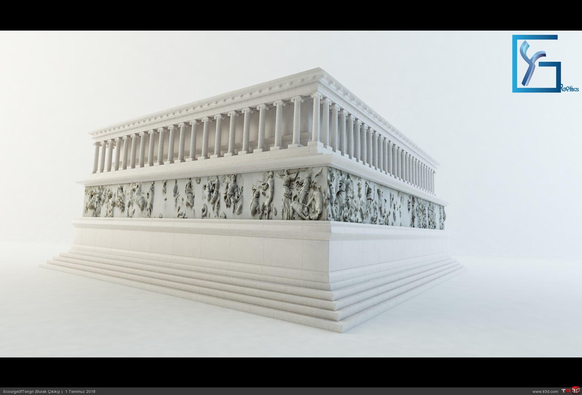 Zeus Altarı Pergamon 2