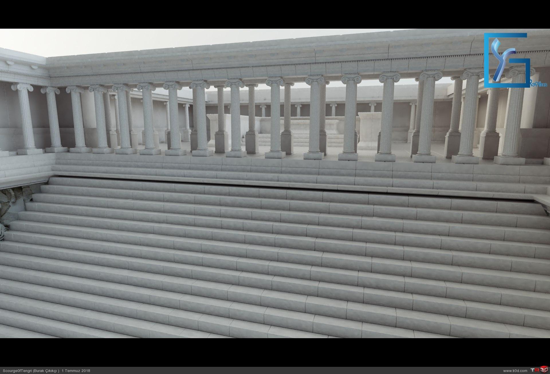 Zeus Altarı Pergamon 4