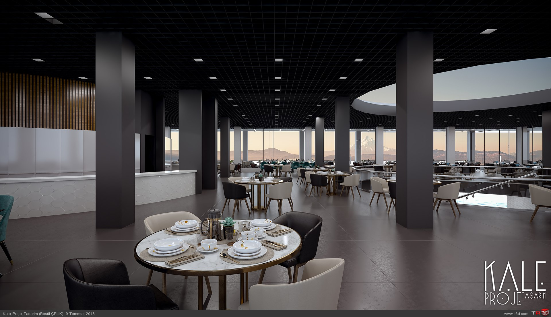 Kale 3D-Restorant 2
