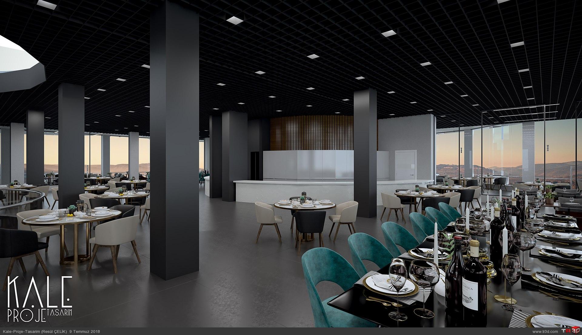 Kale 3D-Restorant 3