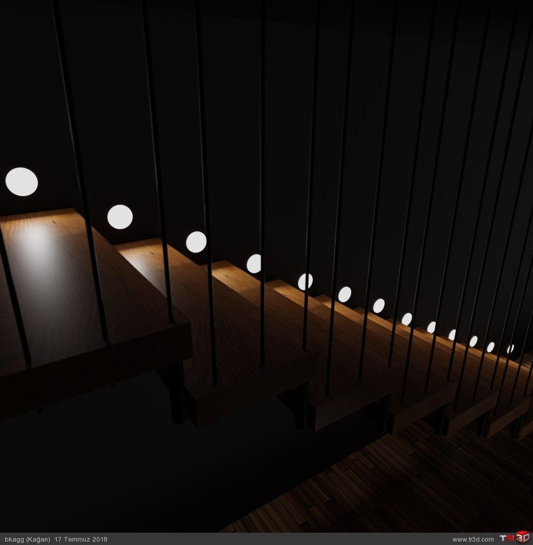 Gece ışık çalışması 1