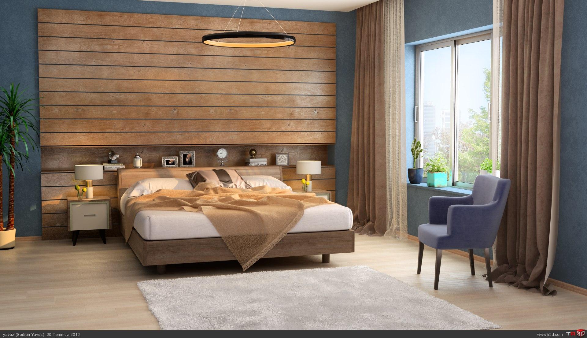 Yatak odası Çalışması