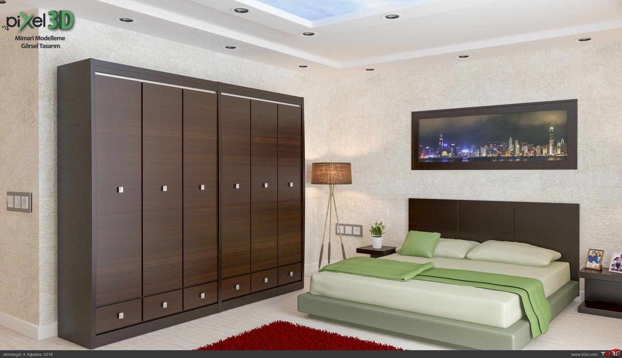 Saroz Yapı Keşan Yatak Odası