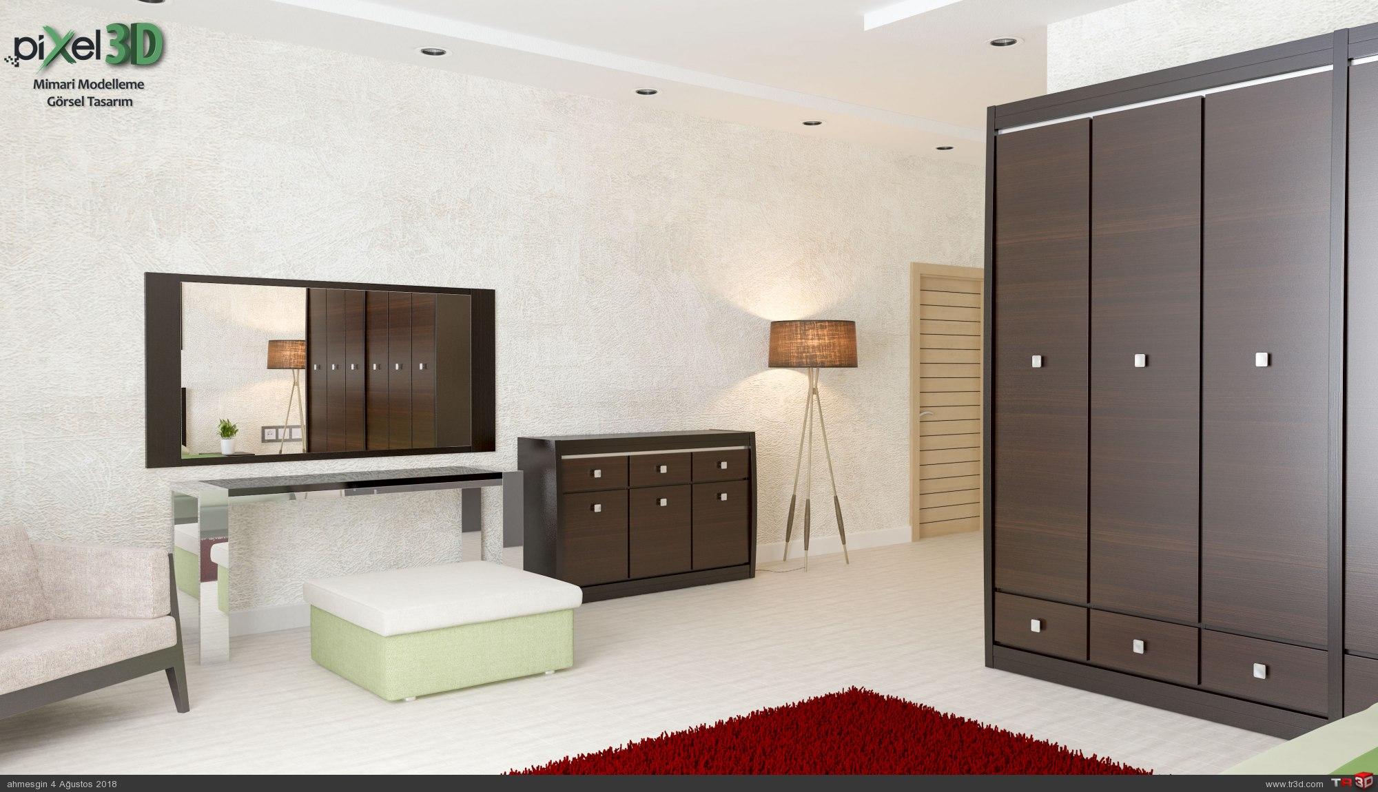 Saroz Yapı Keşan Yatak Odası 1