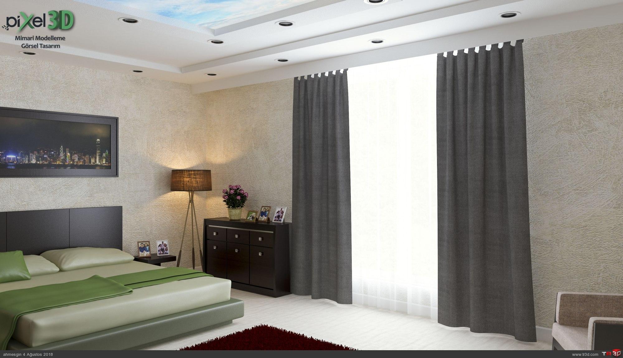 Saroz Yapı Keşan Yatak Odası 2