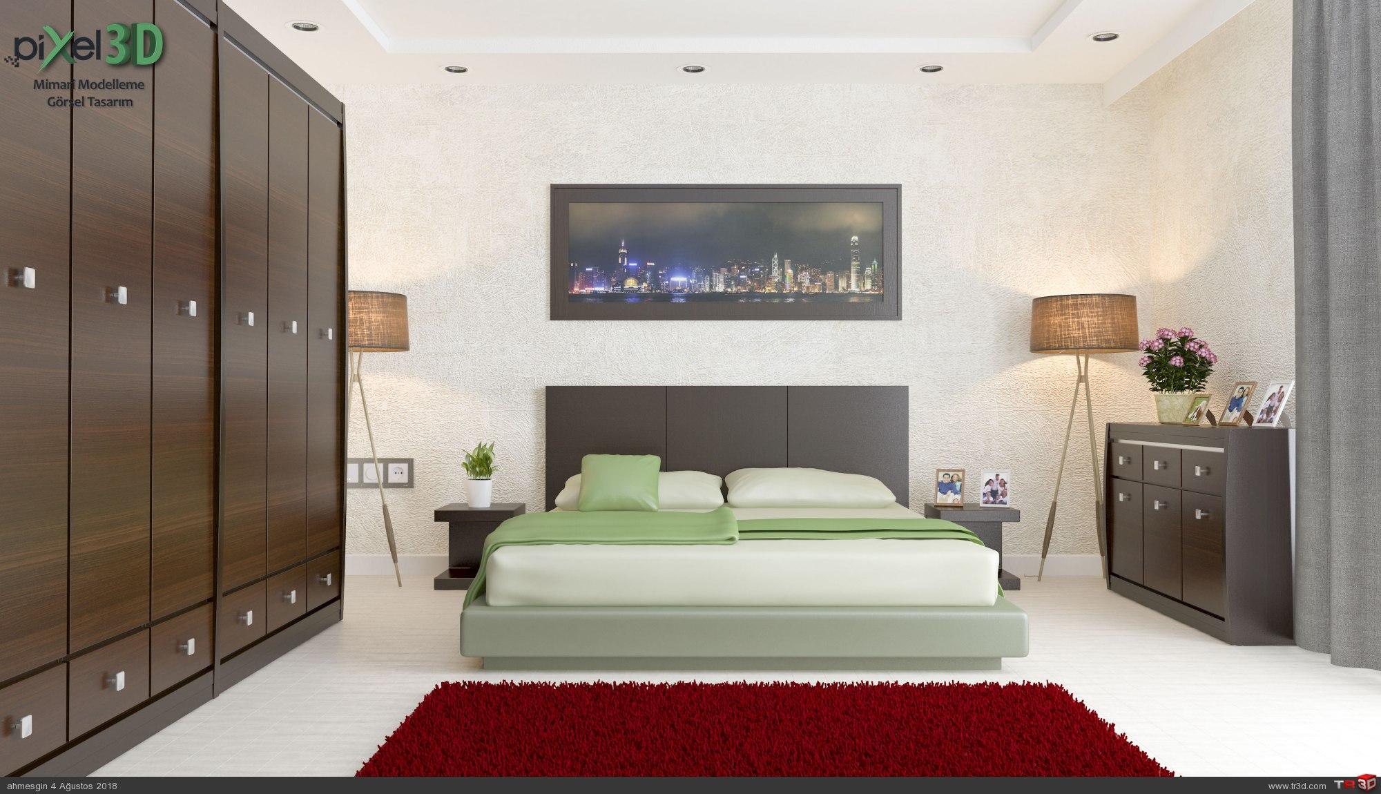 Saroz Yapı Keşan Yatak Odası 4