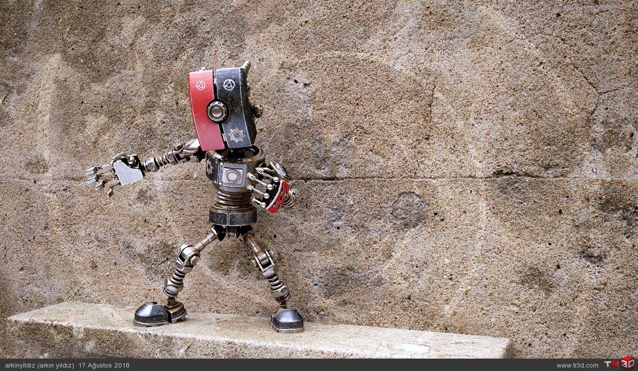 Robot - Animasyon Test