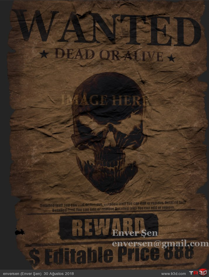 WANTED (poster)